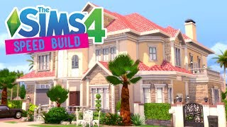 The Sims 4 -Speed Build- Floridian Dream Mansion - No CC
