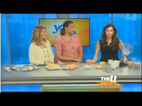 Healthy Replacements for Junk Food & Healthy Junk Food on WCIU TV