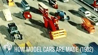 How Model Cars are Made (1962) | British Pathé