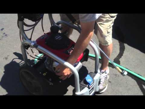 homelite 3100 pressure washer manual