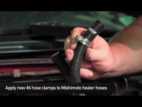 How To Install: Mishimoto 1990-1991 Mazda Miata Heater Hose Kit