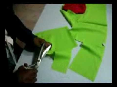 blouse cutting method