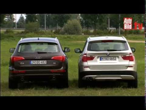 BMW X3 vs. AUDI Q5   -   Test Video .....................................................Oeni