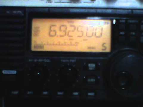 Rave On Radio, shortwave pirate station  on air 4/6/2013