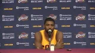 Kyrie Irving - Cavs Media Day 2014 - Full Press Conference