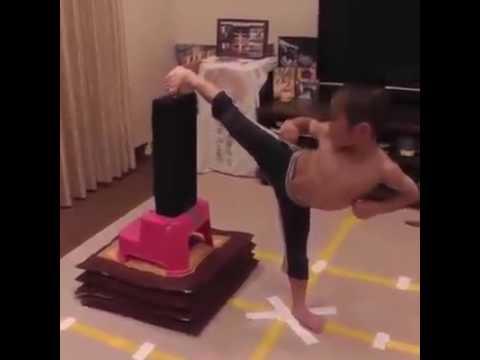 Niño karate - Bruce Lee