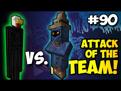 Minecraft: PAUL vs. CHIM!!! - Attack of the B-Team Ep. 90 (HD)