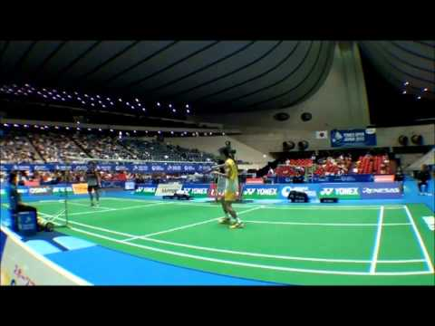 Lee Chong Wei Japan SS 2012 (footwork) - from Badland movie
