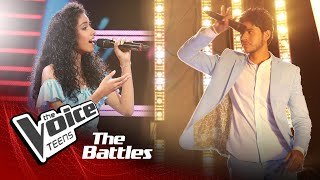 The Battles : Wasundara Ravihansi V Rashmika Prabhashwara | Walakulu Pelin |The Voice Teen Sri Lanka