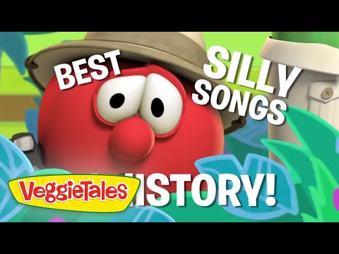 Veggietales   A Mess Down in Egypt   Silly Songs With Larry Compilation   Cartoons For Kids