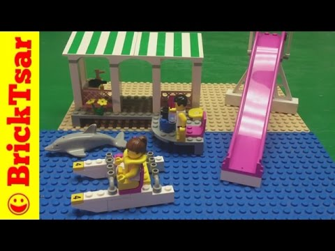 Paradisa Lego 6489 Seaside Holiday Cottage from 1997 review Lego Town City