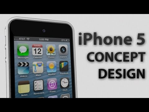 iPhone 5 Concept Design Music Videos