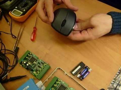 Разборка мышки A4Tech G7-750