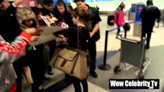 Anna Kendrick Arrives to LAX Airport