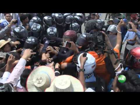 A Violent Clash Between Security Guards & Land protesters