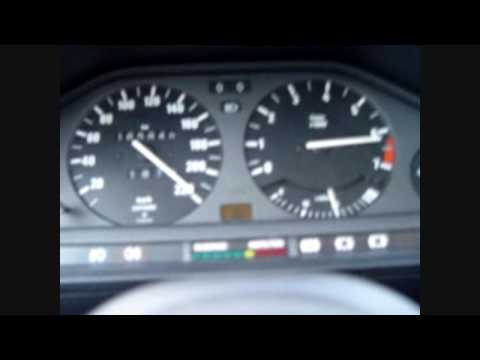 Acceleration test of BMW 325i 2,7L turbo 600hp 800Nm