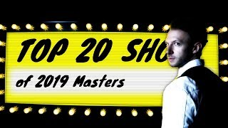 Top 20 Shots of 2019 Masters