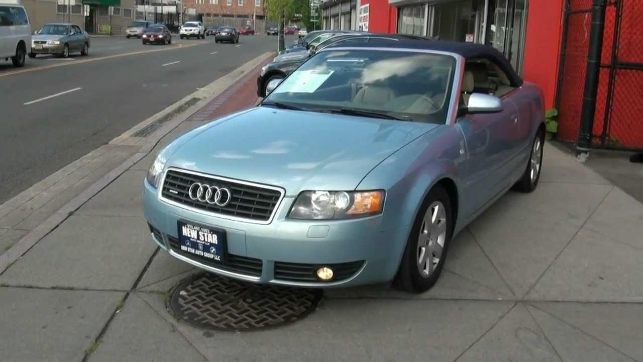 2004 Audi A4 3 0 Quattro Cabriolet Youtube