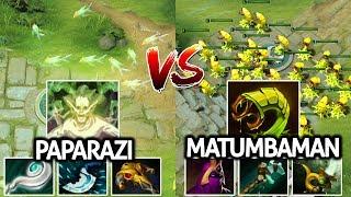 Matumbaman Venomancer VS Paparazi Death Prophet | Battle of Cancer Hero Mid 7.21 Dota 2