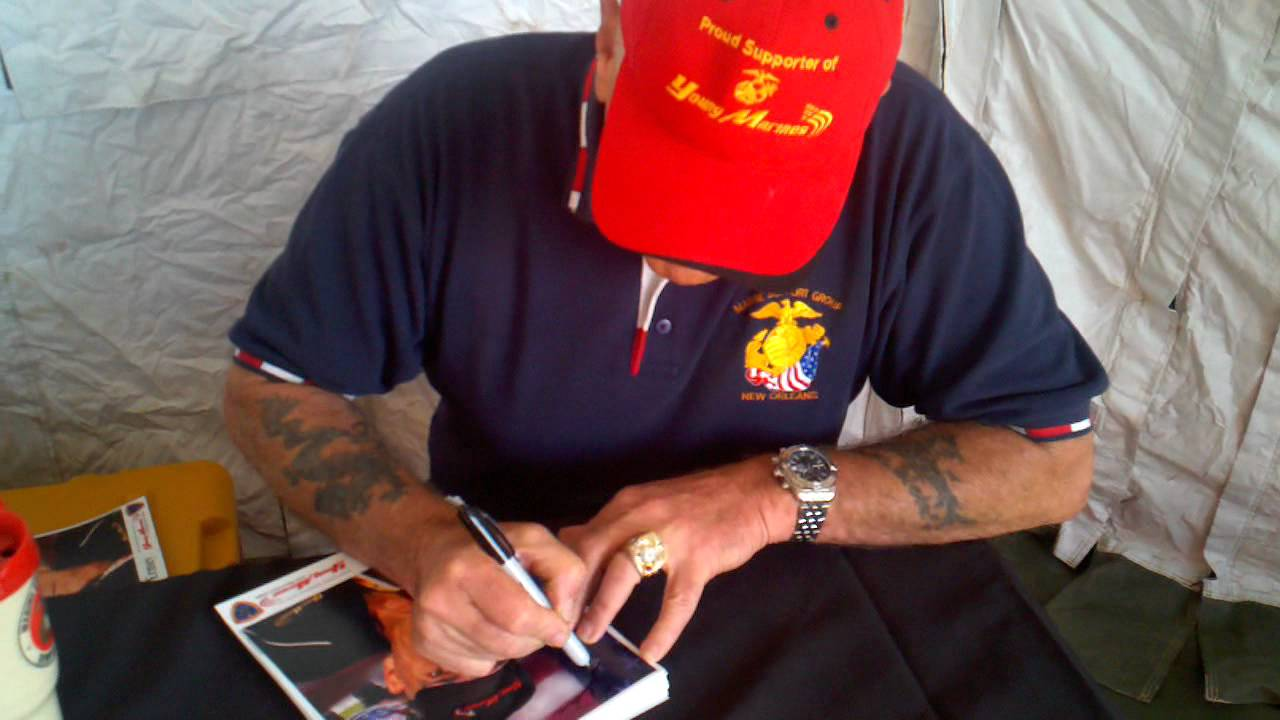 R Lee Ermey Tattoo Gunny R Lee Ermey autographs