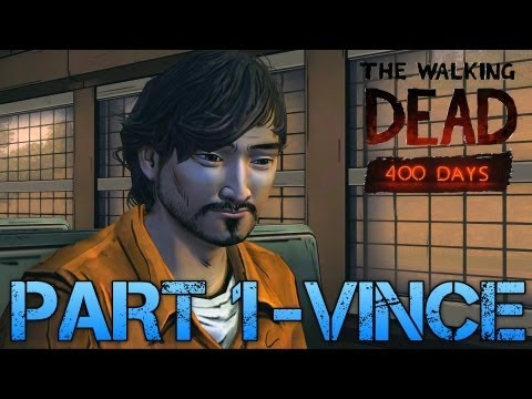 The Walking Dead: 400 Days   PART 1 - VINCE   Gameplay Walkthrough PC (Commentary/Face Cam)
