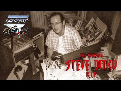 The Amazing STEVE DITKO (R.I.P.) - Razör vs. Comics
