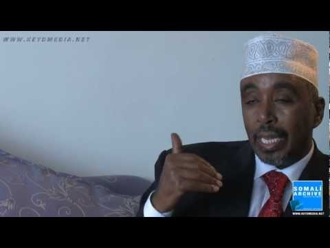 Somali parliament speaker, Sharif Hassan - somali video