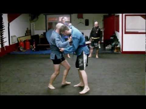 Sambo Techniques - Sleeve & Collar Grip 1: Knee Pick.wmv Image 1