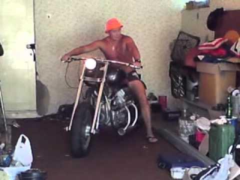 Мотоцикл своими руками ютуб 53
