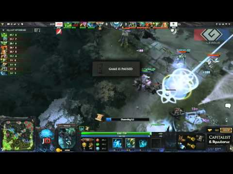 iG vs LGD.cn Game 2 - G-League Group Stage DOTA 2 - Tobiwan & Capitalist