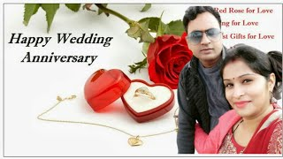 Happy Anniversary | Wedding Anniversary Wishes/Greetings/Quotes/SMS For Couple/Whatsapp Status