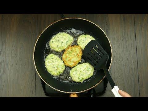 Обалденные кабачковые оладьи! Всего один ингредиент полностью меняет вкус блюда…   Appetitno.TV