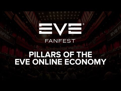 EVE Fanfest 2016 - Pillars of the EVE Online Economy Infographic