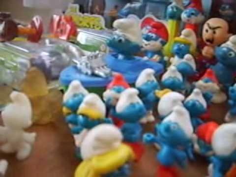 Coleccion de pitufos, Smurfs Collection, Monterrey