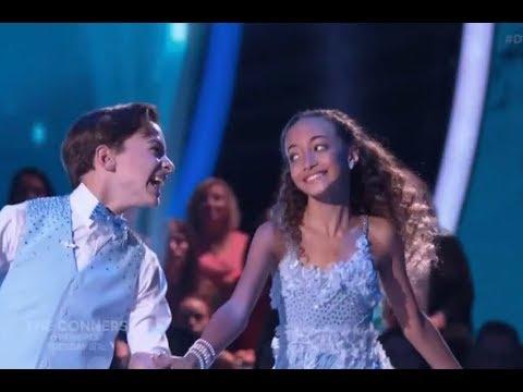 Sophia Pippen & Jake Monreal - Dancing With The Stars Juniors (DWTS Juniors) Episode 2