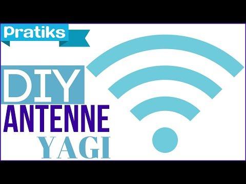 Comment faire une antenne Yagi pour capter le wifi