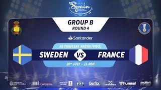 #Handtastic | PR - Group B | Sweden : France