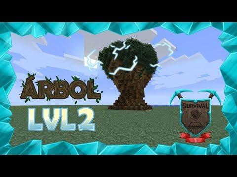 Survival 1.7 Ep131. El árbol más difícil de hacer de todo Minecraft