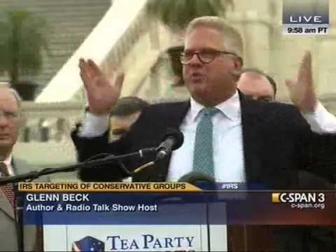 Glenn Beck Bashes DC Establishment At Tea Party Rally: 'Vegas Admits Its Full Of Crooks And Hookers'