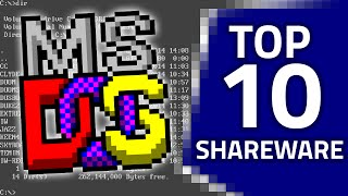 My Top 10 Shareware DOS Games
