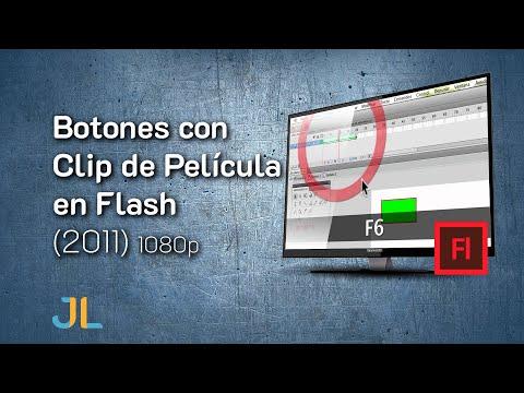 Botones con Clip de Película en Flash