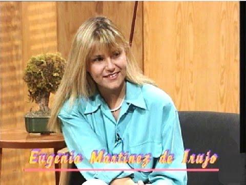 Eugenia Martínez de Irujo, joven empresaria en 1991