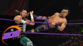 Lince Dorado vs. Mustafa Ali: WWE 205 Live, Dec. 13, 2016