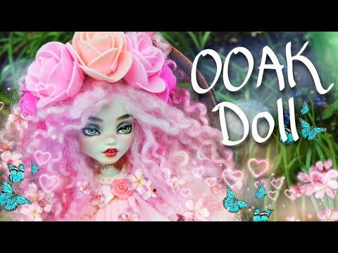 DIY Ooak Spring doll Monster High Doll Custom repaint