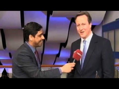 British PM David Cameron says 'phir ek baar Cameron sarkaar'