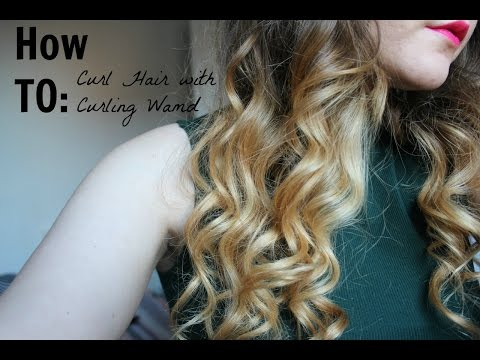 How To: Curl Hair with Babyliss Curling Wand   Alex Armstrong