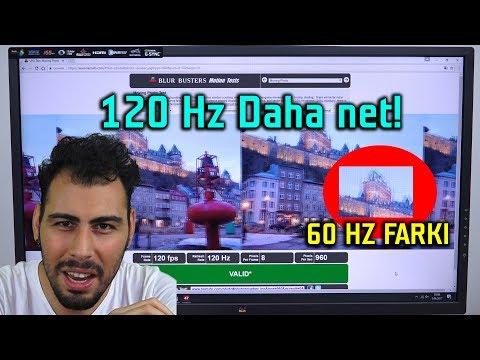 60 Hz vs 120 Hz Detailed Test