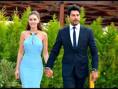 Турецкие актеры  – На свадьбе актеров 2016! -  Кыванч Татлытуг - Синем Кобал и другие