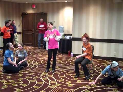 Bravo Rehearsal Prior To Adjudicated Performance 2014 Junior Theater Festival video
