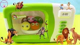 PLAY DOH Learn to count Learning colors for toddlers with The LION KING toys for Kids